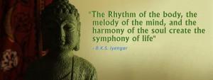 BKS Iyengar quote.