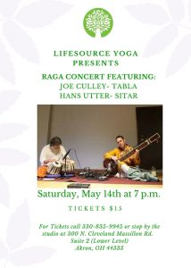 Flyer for Raga Concert-3