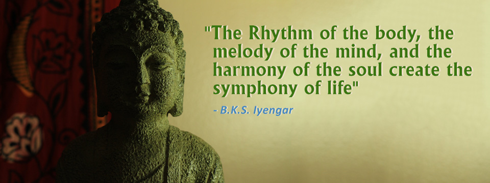 BKS Iyengar quote.