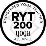 RYT 200, Yoga Alliance Registered Yoga Teacher